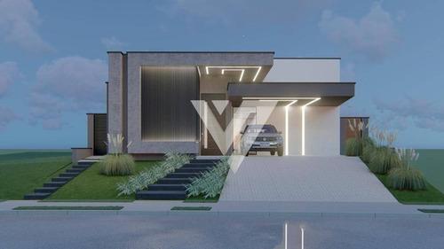 Casa Com 3 Dormitórios À Venda, 235 M² Por R$ 1.690.000,00 - Alphaville Nova Esplanada I - Votorantim/sp - Ca1818