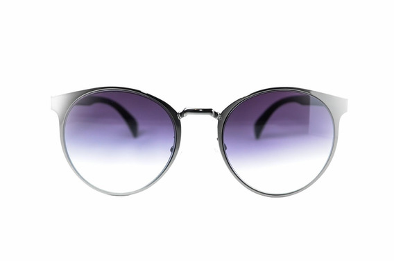 Óculos De Sol Feminino Fashion Cinza Chumbo