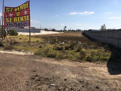 Se Vende Terreno A Orilla De Carretera (tgo-acaxochi)