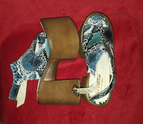 Zapato Sandalias Plataforma Moda Divinas.!