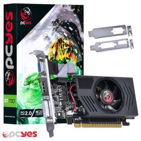 Placa De Vídeo Ge Force Gt 730 4 Gb 128 Bits
