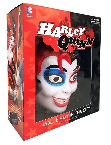 Harley Quinn Book & Mask Niños Inglés Máscara Joker Batman
