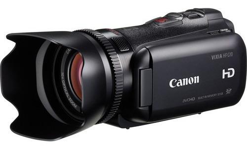 Filmadora Semi Profissional Canon Vixia Hf-g10 Nova