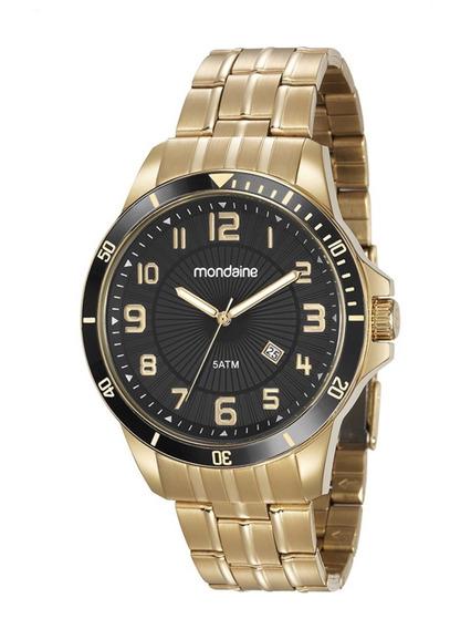 Relógio Mondaine Masculino Folheado 78758gpmvda2