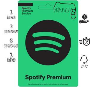 Digital Spotify Premium 6 Meses + Garantia E Inmediato