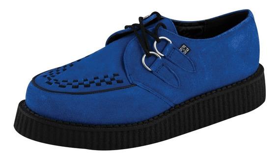 Creepers Gamusa Azul Tuk A8282 Elvis Rockabilly Campbell