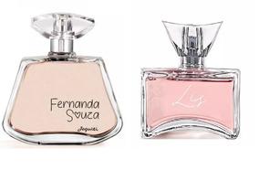 Combo Perfumes Femininos Jequiti : Fernanda Souza + Liz