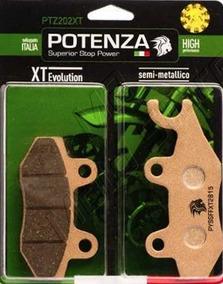 Pastilha Freio Dianteira - Ptz202xt - Potenza