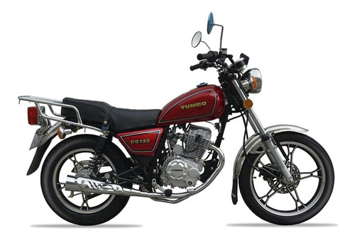 Yumbo Dc 125 Moto Nueva 0km Custom 2021 + Obsequios Fama
