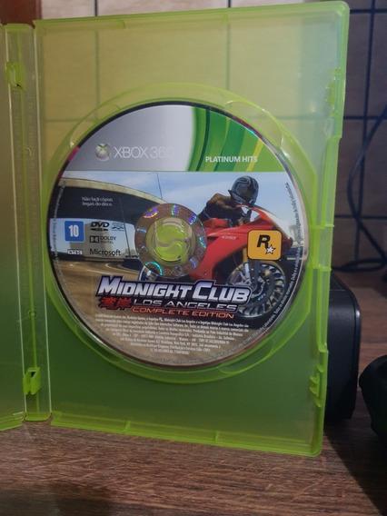 Midnight Club Los Angeles Xbox 360 - Midia Física Original