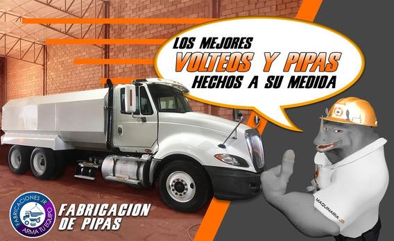 Fabrica De Camiones De Pipas Mas Grande De Mexico!