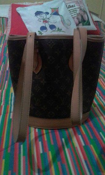 Bolsa Petit Bucket Louis Vuitton Original