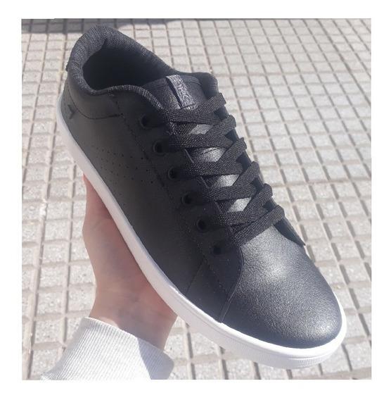 Zapatillas Para Hombres Urbanas Deli Azul/ Negro