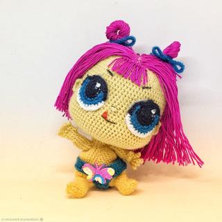 Crochet doll, amigurumi doll, knitted lol doll, handmade doll ... | 320x320