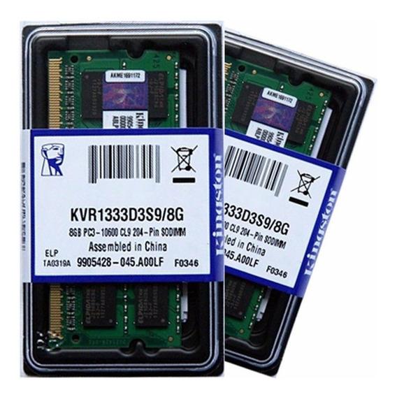 Memórias Ddr3 1333mhz 2x8gb Macbook Pro Late 2011 I5 2.4ghz