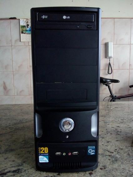 Computador Samsung + Monitor Lg17 Pl Ddr3 2ram 500gb