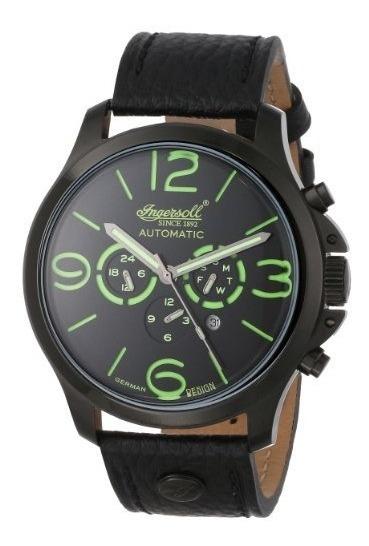 Relojes De Pulserahombres Ingersoll Display In1503bkgr To..