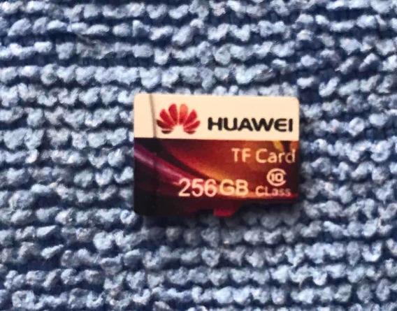 Cartão De Memória Microsd - Huawei 256gb + Brinde - Original