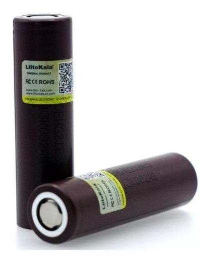 Bateria 4pcs 3000mah Hg2 20 Amp Original Liitokala Tática