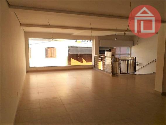 Salão Para Alugar, 140 M² Por R$ 4.700,00/mês - Centro - Bragança Paulista/sp - Sl0024