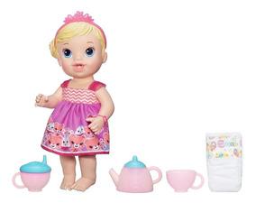 A9288 Boneca Baby Alive Hora Do Chá Loira - Hasbro