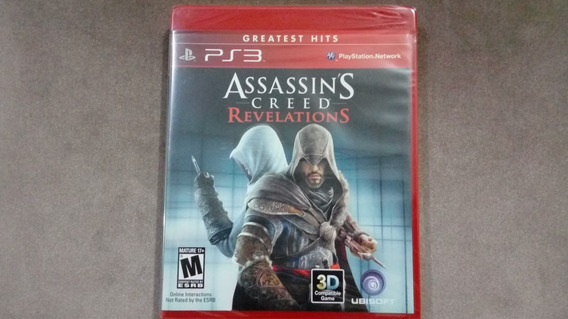 Jogo Assassins Creed Revelations Ps3 Original