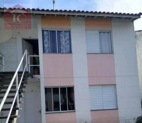 Apartamento Com 2 Dormitórios À Venda, 70 M² Por R$ 170.000 - Outeiro De Passárgada - Cotia/sp - Ap0365