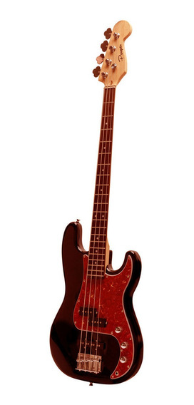 Bajo Electrico Parquer Jazz Bass Precision Bordo Funda Cuota
