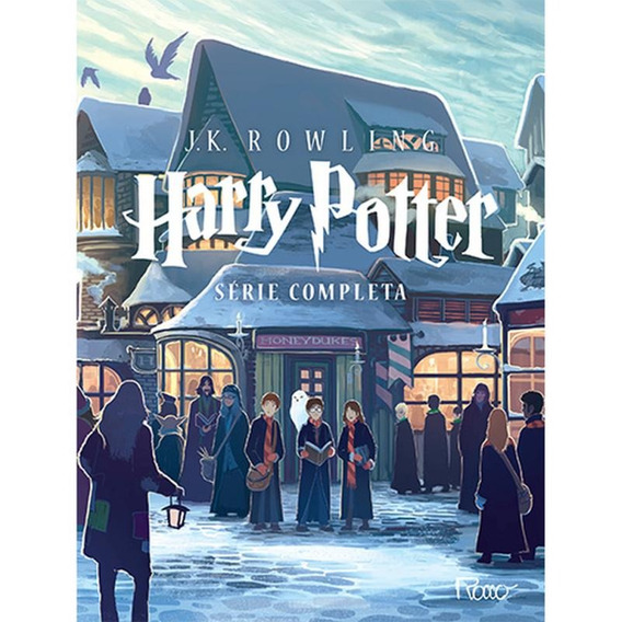 Box Harry Potter - Série Completa (sete Volumes)