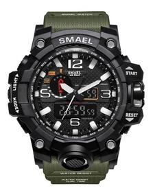 Relógio Masculino Militar Shock Esportivo Digital Smael 1545