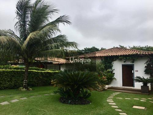 Casa Com 3 Dormitórios À Venda, 170 M² Por R$ 1.400.000,00 - Manguinhos - Armação Dos Búzios/rj - Ca0938