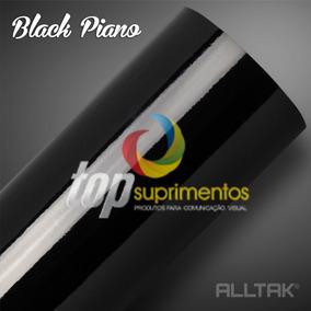 Vinil Adesivo Black Piano 4.00m X 1.40cm