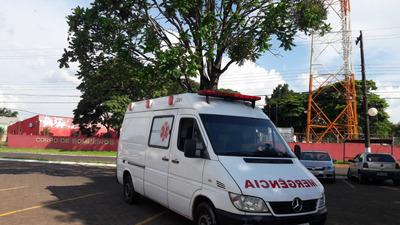 Ambulancia Sprinter Longa Uti