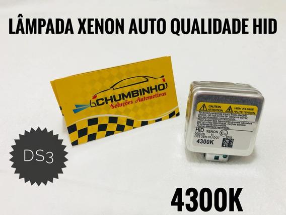 1 Lâmpada Xenon Ds3 Golf Jetta Fusca Amarok 4300k Nova Hid