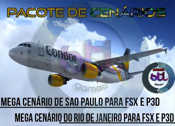 Pacote Completo De Cenários Brasileiro - Fsx E P3d
