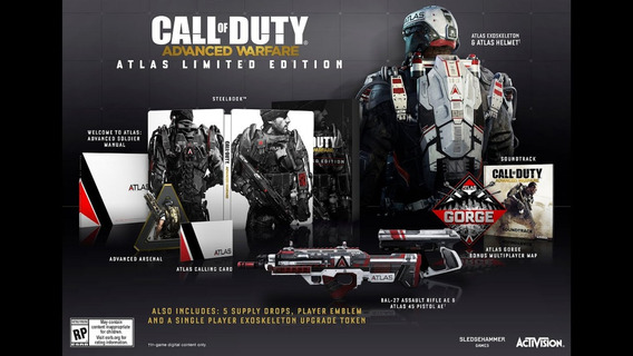 Call Of Duty Advanced Warfare Atlas Limited Edition Ps4