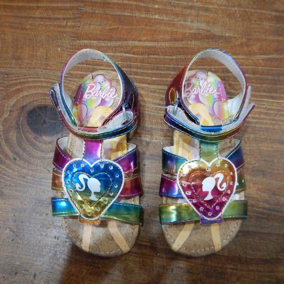 Sandalias Barbie Nro 25 Hermosas!!!!
