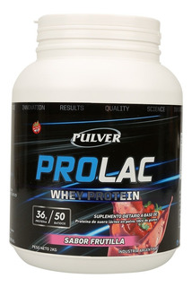 Whey Protein Prolac Pulver 2kg Proteina Concentrada Sin Tacc