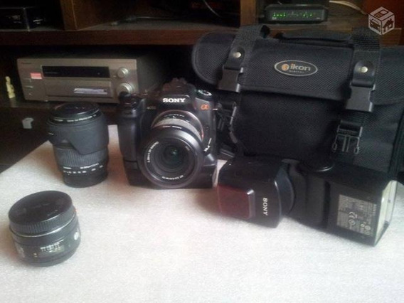 Camera Sony Alpha 350 Dslr A350 + Grip + Sony Af Dt 18-70mm