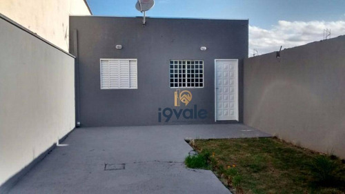 Casa Nova Com 60m² À Venda - Loteamento Santa Edwiges - São José Dos Campos/sp - Ca0711