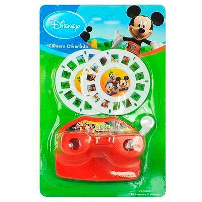 Brinquedo 2 Cameras Divertida A Casa Do Mickey Mouse Disney.