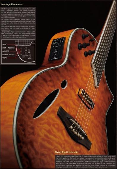 Ibanez Montage Hybrid, Hiper-guitarra!, Estuche Rigido Orig.