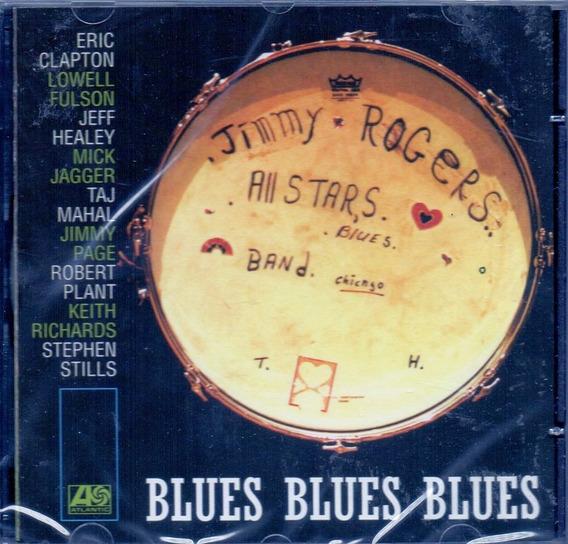 Cd The Jimmy Rogers - Blues Blues Blues - Novo***