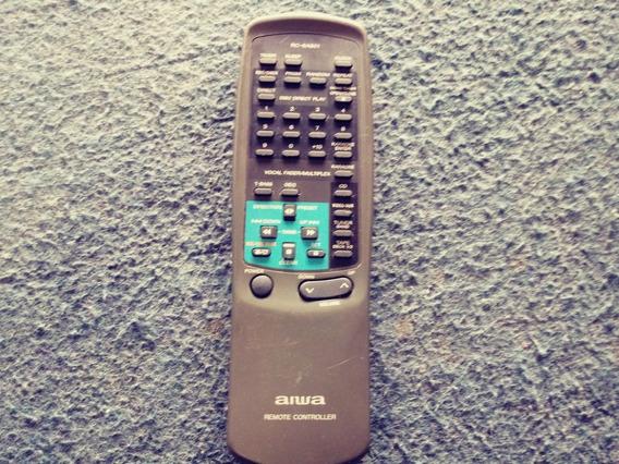 Controle Remoto Som Aiwa Nsx-f9 F12 F15 Original