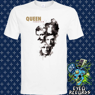 Queen Forever - Blanca - Rock - Polera- Cyco Records