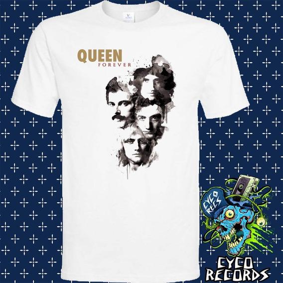 Queen Forever - Blanca - Rock - Polera- Cyco Records