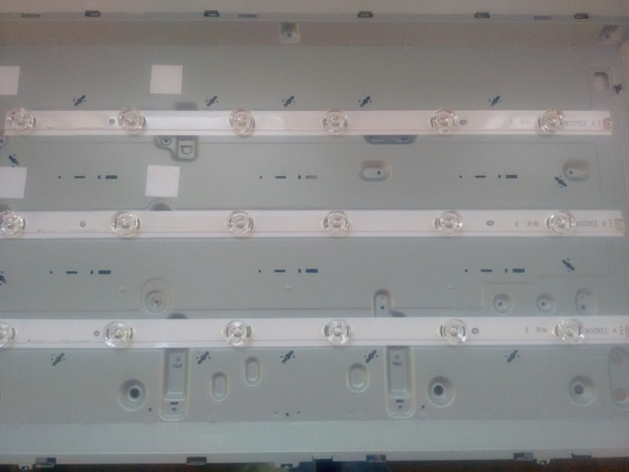 Kit Co 3 Barras De Led Da Tv Lg Cd:6920l-0418d Md:lc320dxe