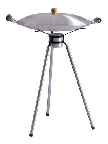 Disco De Aluminio Similar Ao Arado 40cm C/tampa E Tripé