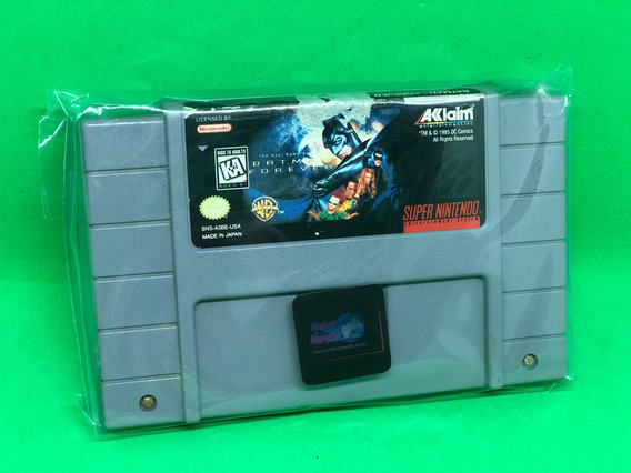 Batman Forever - Super Nintendo Snes Original