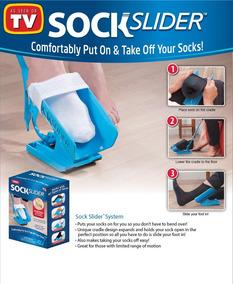 Calçador De Meias Prático Fácil Grávidas Idoso Sock Slider